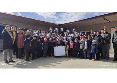Spende an Schule Nepal fuer Lehrer von wegaswerbung