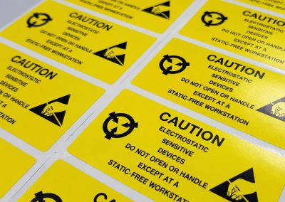 Maschinenaufkleber-Industrieaufkleber-Foliendruck-Etikettendruck