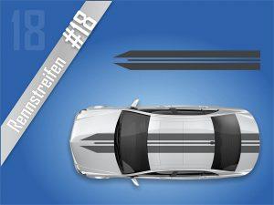 Autostreifen-Rennstreifen-Ralleystreifen-Auto-Tuning-Zierstreifen #2118