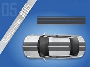 Autostreifen-Rennstreifen-Rallystreifen-Viperstreifen #2105