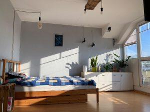 ruhige Wohnung Dresden Striesen West zu vermieten mit Bett