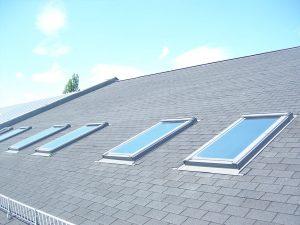 476-Sonnnenschutzfolie-Silber-Mittel-Aussen-Dachfenster-Schutz-vor-Hitze