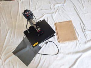 Gebrauchte-Shirtpresse-Transferpresse-Siser