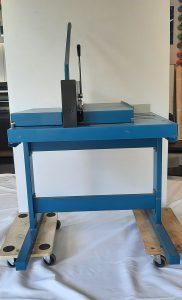 Gebrauchter-Tisch-Stabelschneider-Dahle-robust