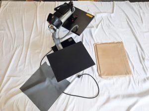 T-Shirt-Textilien-selber-pressen-beschriften-gebrauchte-Shirtpresse