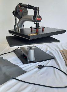 Textilien-selber-pressen-beschriften-gebrauchte-Shirtpresse