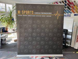 330-Mega-Rollup-Display-Premium-200x200cm-M-Sports-Hamburg
