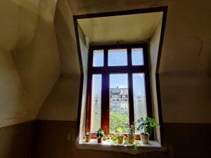 700-Glasdekorfolie-Fensterdekor-Jugenstil-Blumen-Ornamente-Fensterscheiben