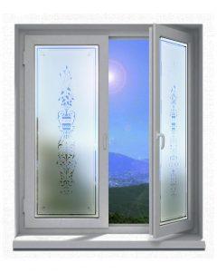 Sichtschutz-Glasdekor-Folienmotiv-Jugendstil-viktorianischem-Stil-003