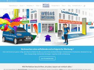 Hompage-Wegaswerbung-Webdesign-Webseite-Wordpress-Blogseite
