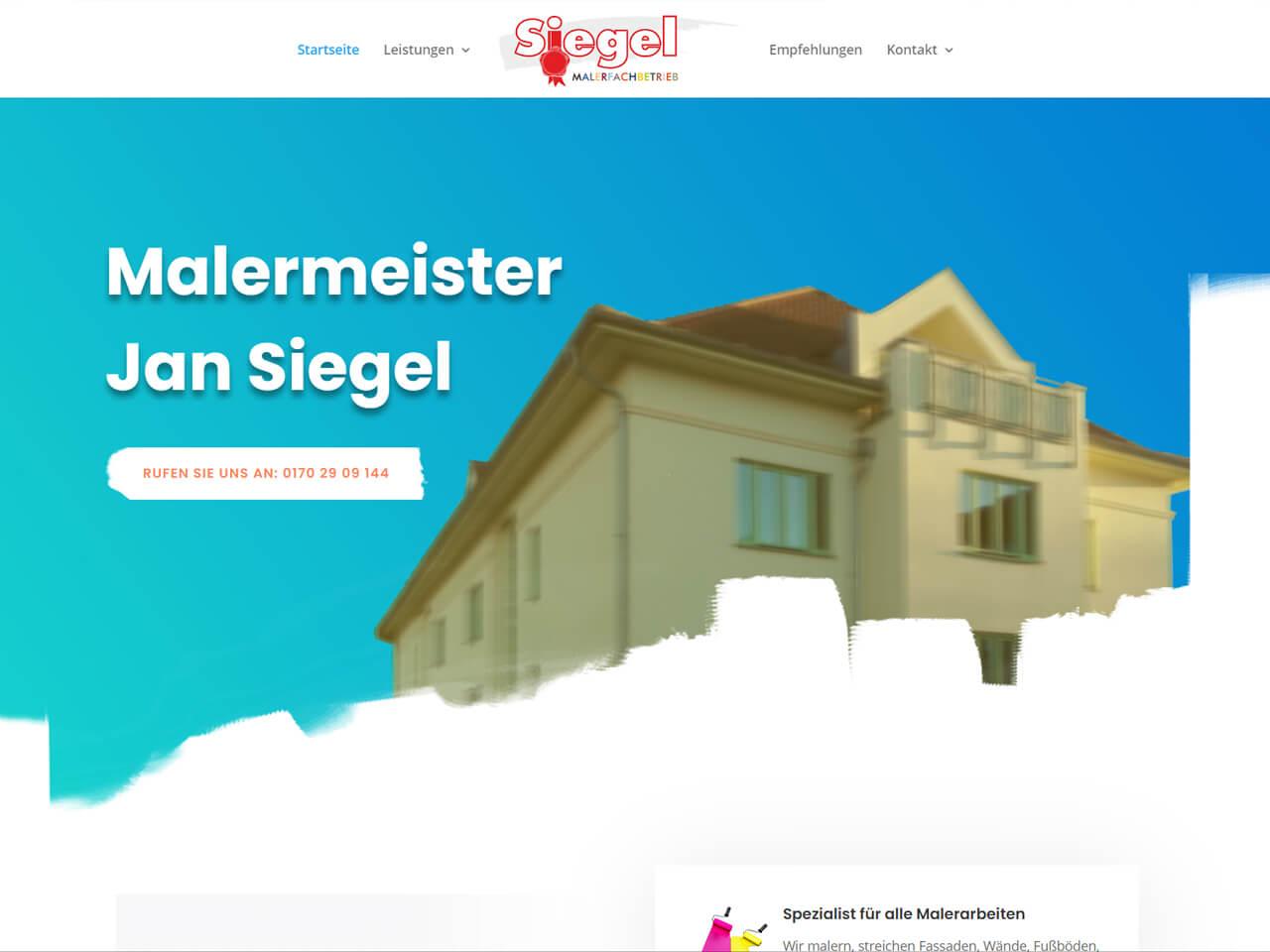 Werbeagentur-Dresden-Wegaswerbung-Webdesign-Webseite-Malermeister-Siegel