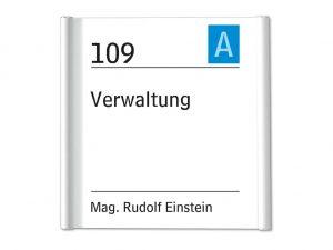628-Tuerschilder-Infoschild-Plano-Rundrohr-dezent