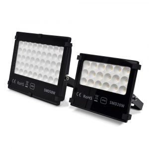 Bauschild-LED-Strahler-Flutlicht-Flaechenlicht