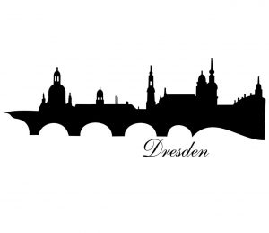Stadt_0004 Dresden_silhouette_Wandtattoo