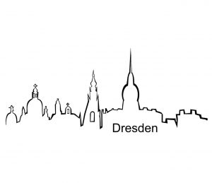 Stadt_0008 Dresden_silhouette_Wandtattoo