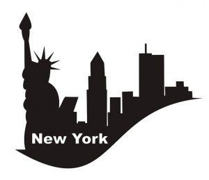 Stadt_0019 New York_silhouette_Wandtattoo