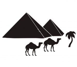 Stadt_0026 Aegypten_silhouette_Wandtattoo