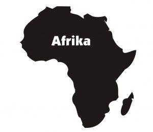 Stadt_0027 Afrika_Landkarte_Wandtattoo