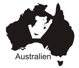 Stadt_0028 Australien_Karte_Wandtaattoo