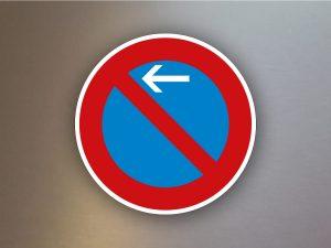 Verkehrsschild-eingeschraenktes-Halteverbot-Anfang-Aufstellung rechts-286-10