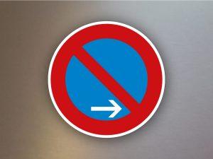 Verkehrsschild-eingeschraenktes-Halteverbot-Ende-Aufstellung-rechts-286-20