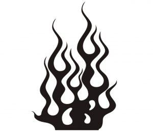 flamme_0022 Wandtattoo