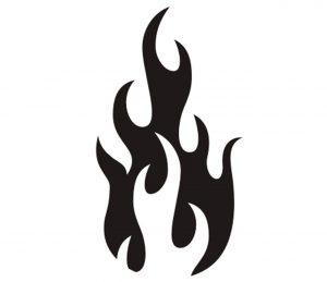 flamme_0032 Wandtattoo