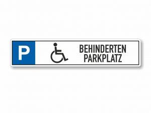 546-Parkplatzschild-Behinderten-Parkplatz