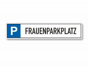 546-Parkplatzschild-Frauenparkplatz