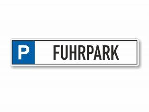 546-Parkplatzschild-Fuhrpark