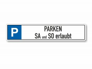 546-Parkplatzschild-Parken-erlaubt