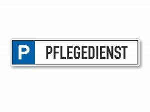 546-Parkplatzschild-Pflegedienst